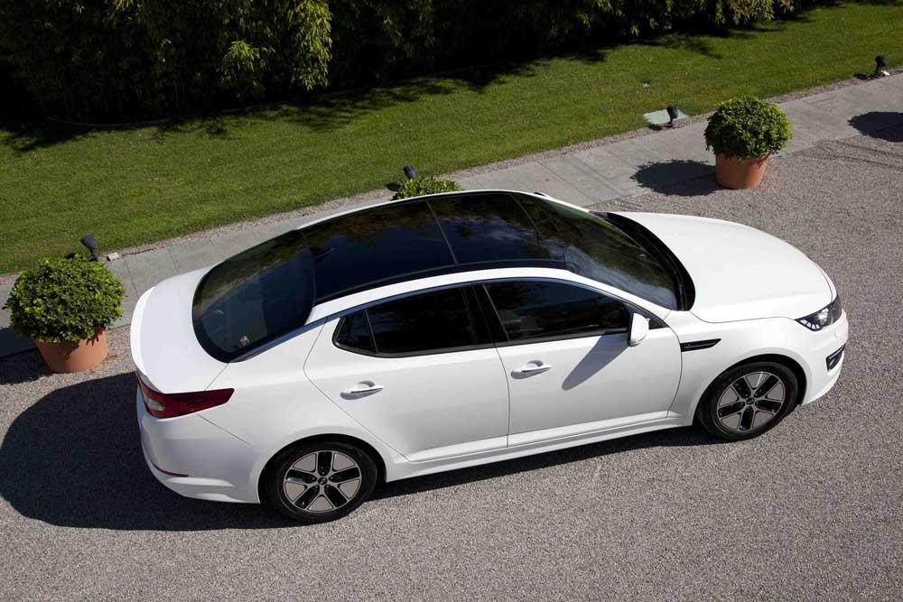 kia optima hybrid voiture hybride essais prix caract ristiques. Black Bedroom Furniture Sets. Home Design Ideas