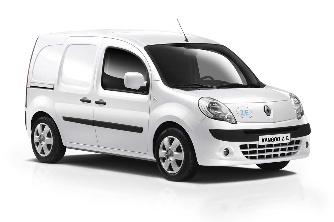 renault kangoo ze voiture lectrique de l ann e selon la greenfleet award. Black Bedroom Furniture Sets. Home Design Ideas