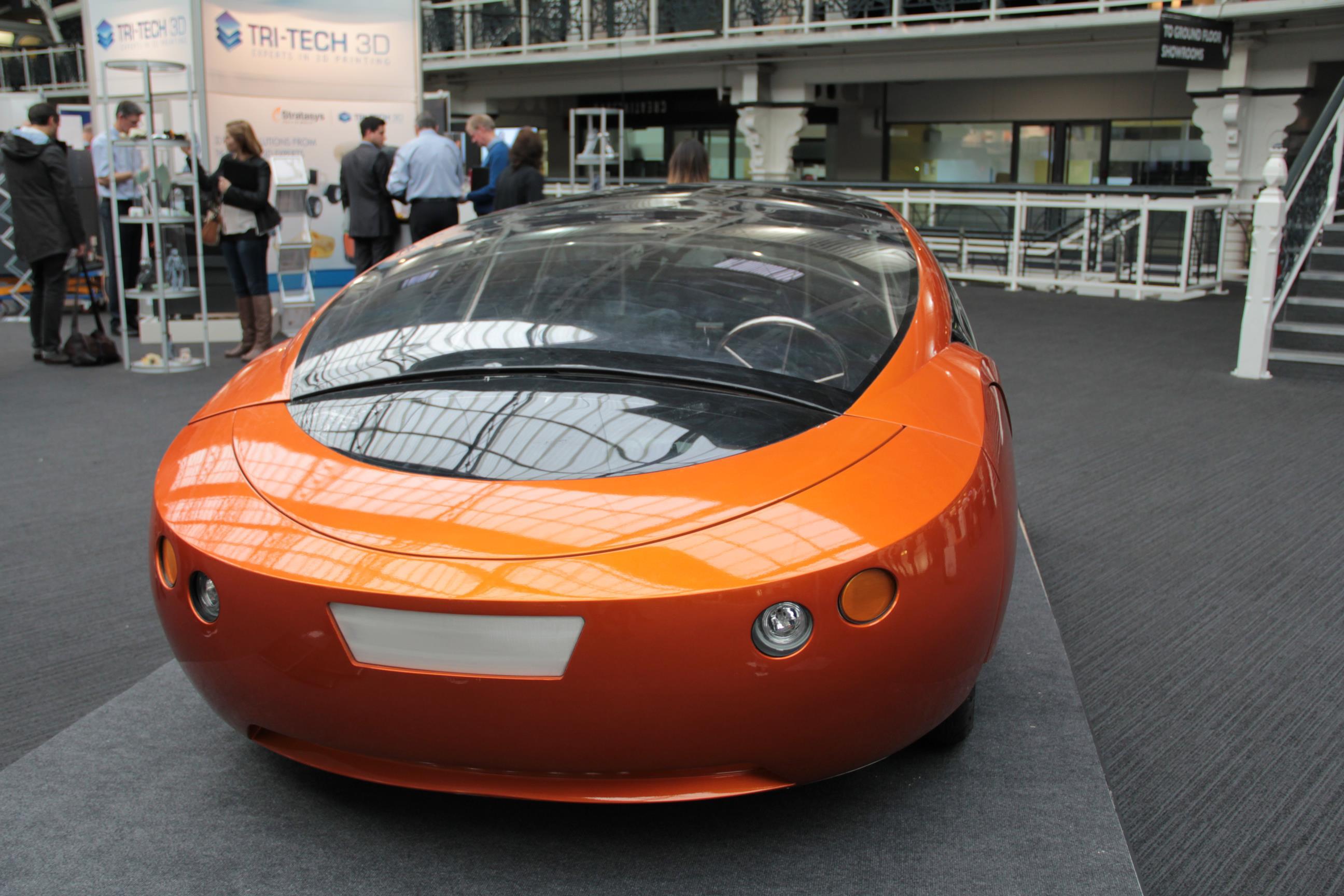 kor ecologic urbee la premi re voiture imprim e en 3d est hybride. Black Bedroom Furniture Sets. Home Design Ideas