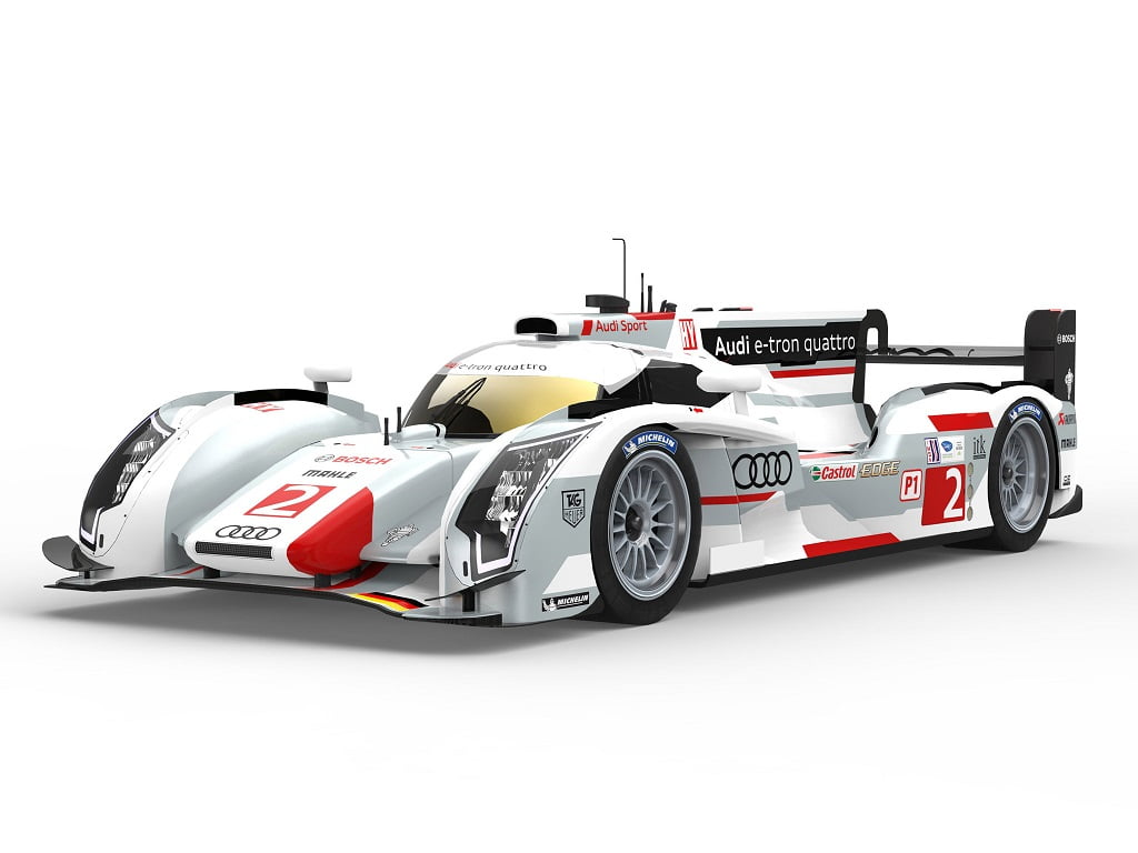 audi r18 e tron quattro dans les rues du mans. Black Bedroom Furniture Sets. Home Design Ideas
