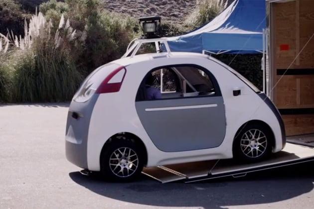 voiture lectrique autonome google pr sente son propre mod le. Black Bedroom Furniture Sets. Home Design Ideas