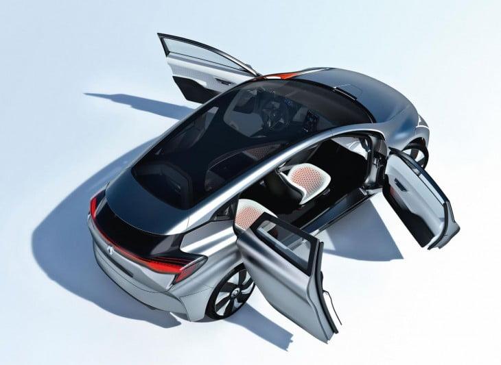 eolab concept le premier z e hybride rechargeable de renault d voil. Black Bedroom Furniture Sets. Home Design Ideas