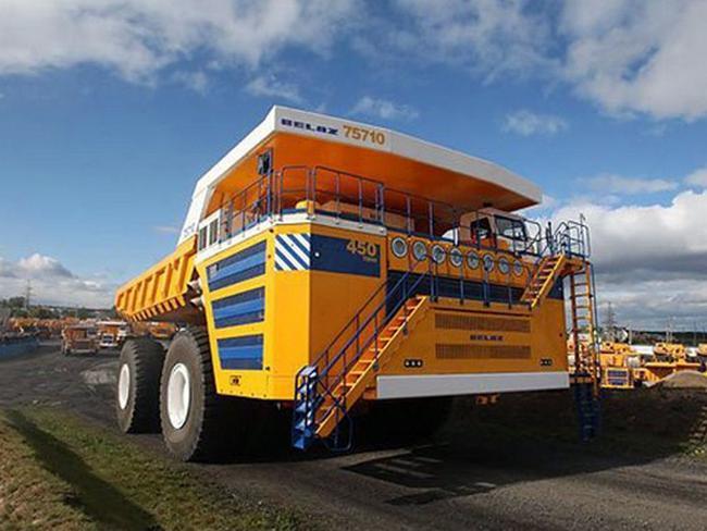 4 moteurs lectriques siemens de 1 200 kw pour le plus gros camion au monde. Black Bedroom Furniture Sets. Home Design Ideas