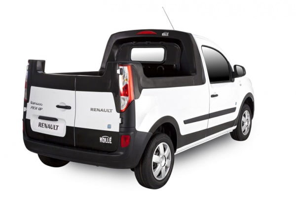renault kangoo z e une version pickup d velopp e par koll. Black Bedroom Furniture Sets. Home Design Ideas
