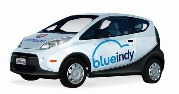 Autopartage électrique : le service BlueIndy bientôt opérationnel