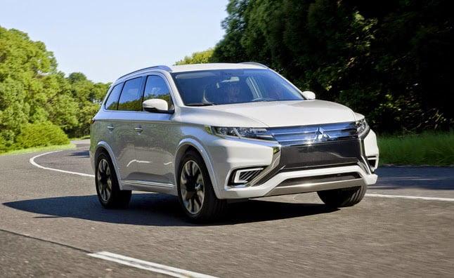 Une gamme complète de SUV électrifiés chez Mitsubishi d ...